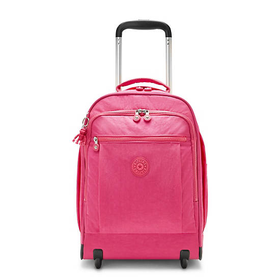 Gaze Large Rolling Backpack, Monster Pink, large