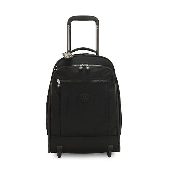 Gaze Large Rolling Backpack,Black Noir,large