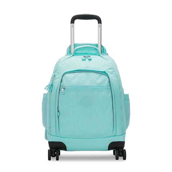 """Zea 15"""" Laptop Rolling Backpack,Fresh Teal,large"""