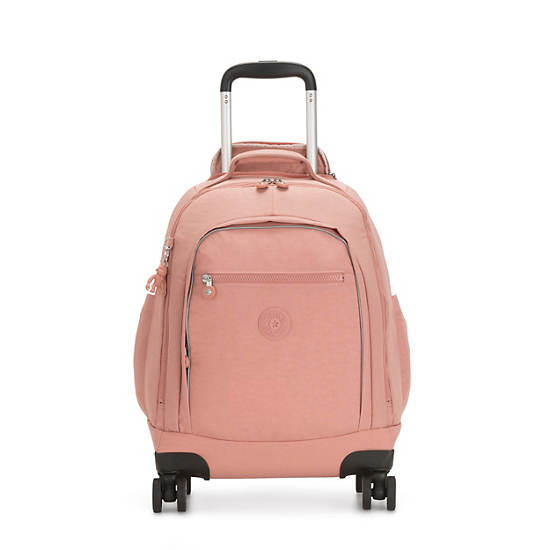 Zea Rolling Backpack,Cocktail Pink,large