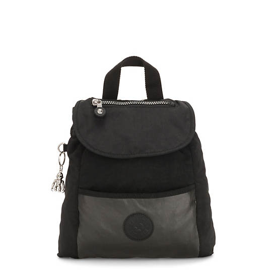 Kalani Small Backpack,Metal Black,large