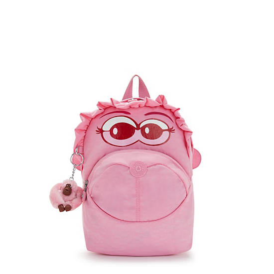 Funny Faster Kids Small Backpack, Lovable Rose, large