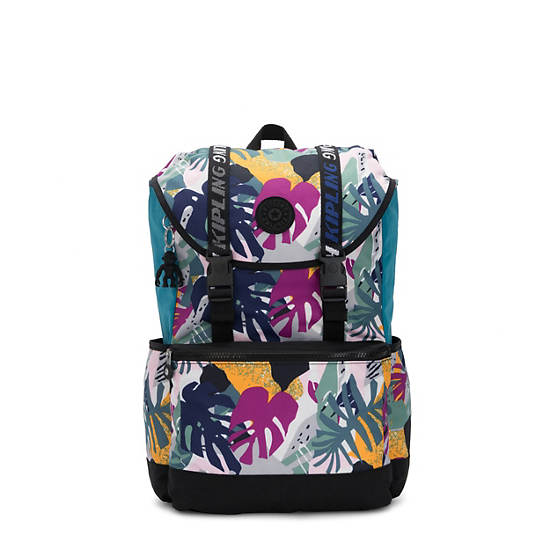 """Experience 15"""" Printed Laptop Backpack,Active Jungle Block,large"""