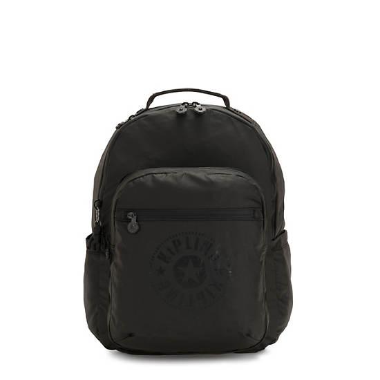 Seoul Large Laptop Backpack,Raw Black,large