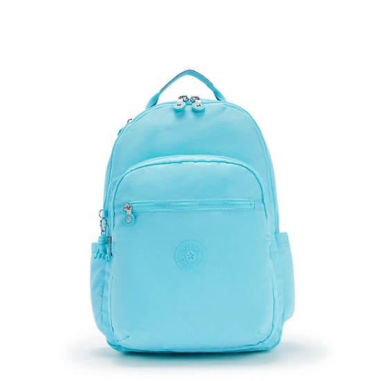"""Seoul Large 15"""" Laptop Backpack, Blue Splash, large"""