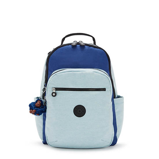 """Seoul Large 15"""" Laptop Backpack, Fresh Denim, large"""
