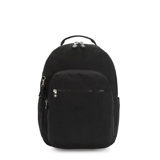 """Seoul Large 15"""" Laptop Backpack, Black Noir, large"""