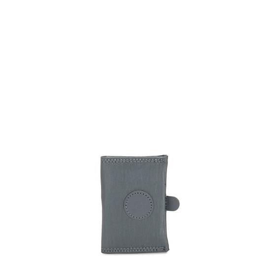 Card Keeper Card Holder,Steel Grey Metal,large