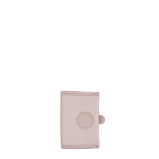 Card Keeper Card Holder,Metallic Rose,large