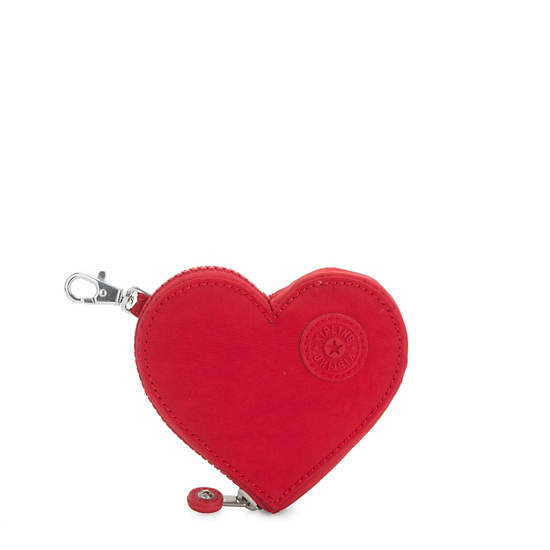 Heart S Zip Pouch,Heart Red,large