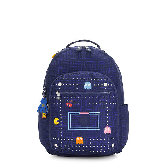 "Pac-Man Seoul Large 15"" Laptop Backpack,Pac Man Good,large"