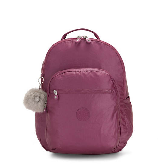 Seoul GO Extra Large Laptop Backpack,Fig Purple Metallic,large
