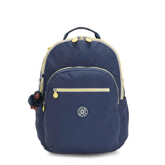 """Seoul Extra Large 17"""" Laptop Backpack,Blue Thunder,large"""