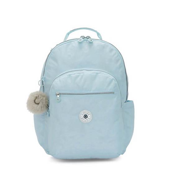 """Seoul Extra Large 17"""" Laptop Backpack,Bridal Blue,large"""