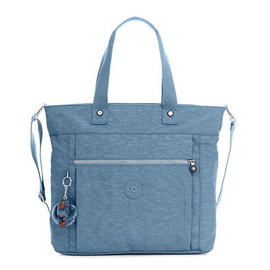 Lizzie Laptop Tote Bag Blue Bird Large