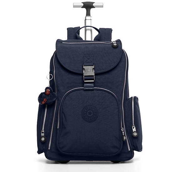 Alcatraz II Large Rolling Laptop Backpack,True Blue Classic,large