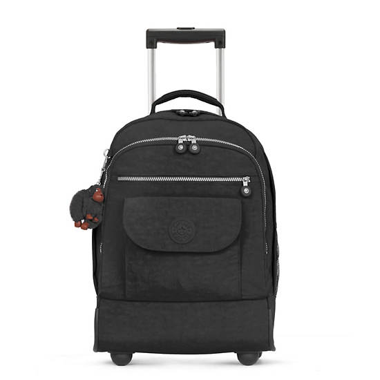 Sanaa Large Rolling Backpack,Black,large