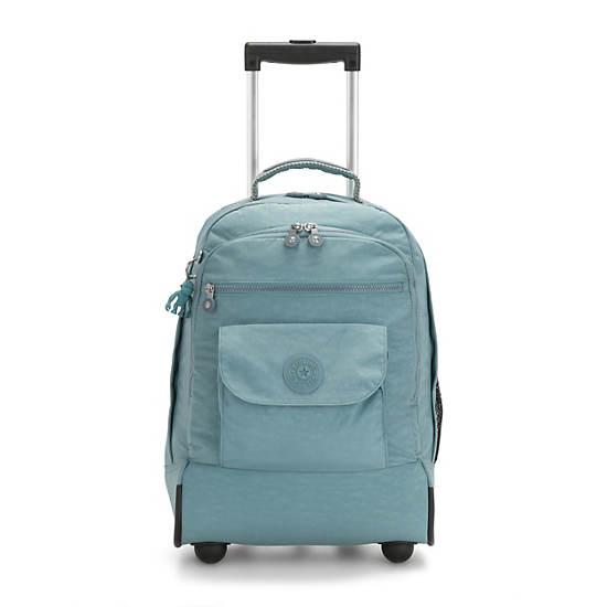 Sanaa Large Rolling Backpack,Aqua Frost,large