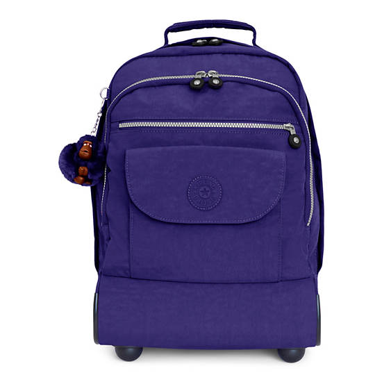Sanaa Large Rolling Backpack,Berry Blue,large