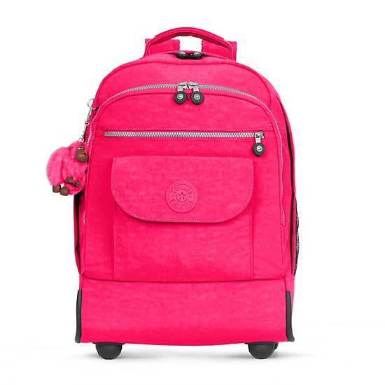 Sanaa Large Rolling Backpack,Surfer Pink,large