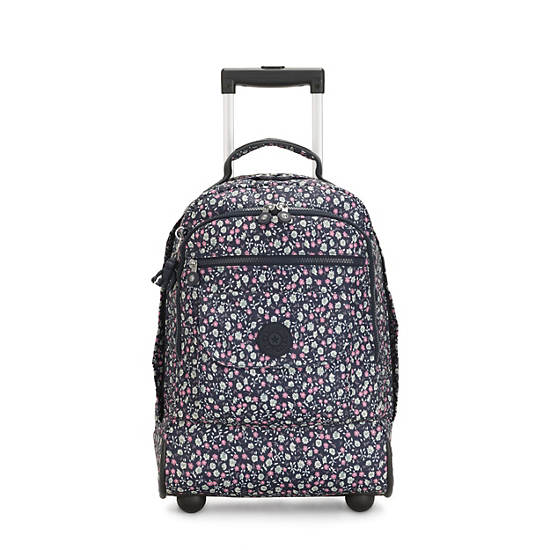 Sanaa Large Rolling Backpack,Floral Rush,large