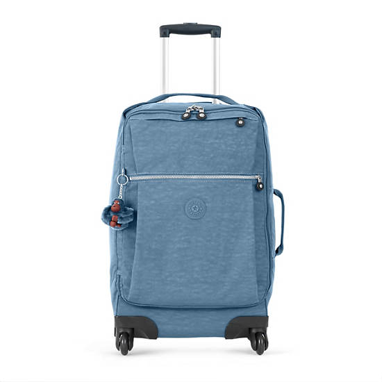 Darcey Small Carry On Rolling Luggage,Blue Bird,large