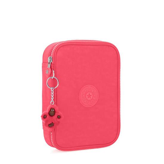 100 Pens Case,Grapefruit Tonal Zipper,large