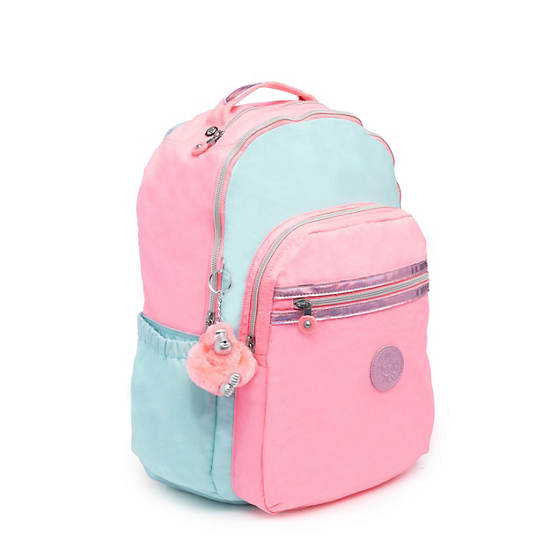 "Seoul Go Large 15"" Laptop Backpack,Teal Heart Combo,large"