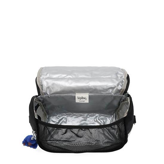 Kichirou Lunch Bag,Black white Combo,large