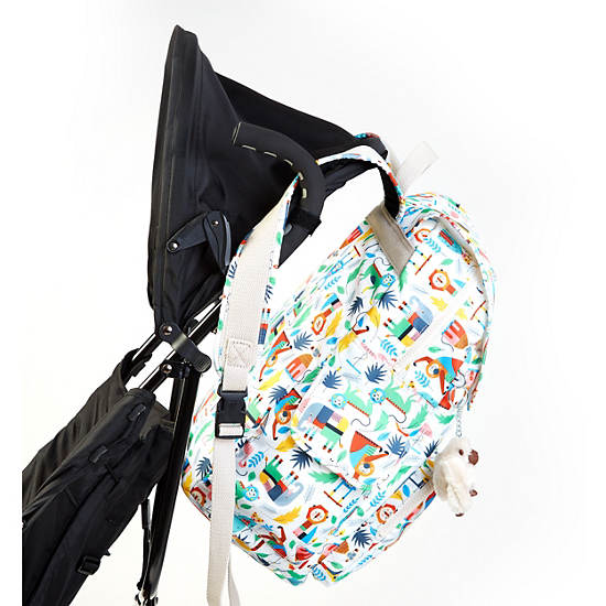 Zax Printed Backpack Diaper Bag Bundle Of Love Large