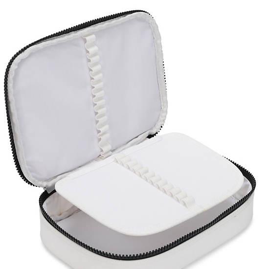 100 Pens Case,Black white Combo,large