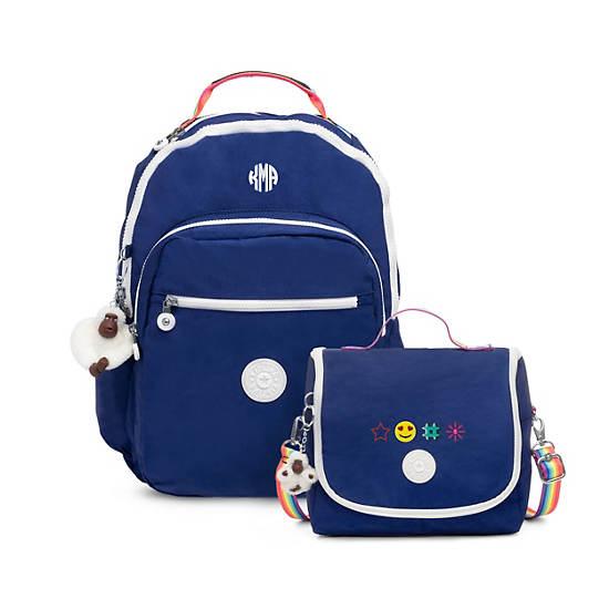 Kichirou Lunch Bag,Cobalt Dream Combo,large