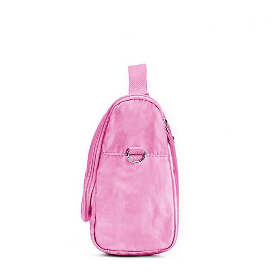 Kichirou Metallic Lunch Bag,Prom Pink Metallic,large