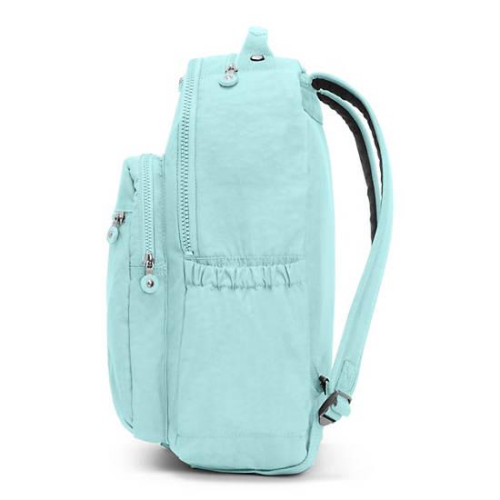 "Seoul Go Large 15"" Laptop Backpack,Fresh Teal Tonal Zipper,large"