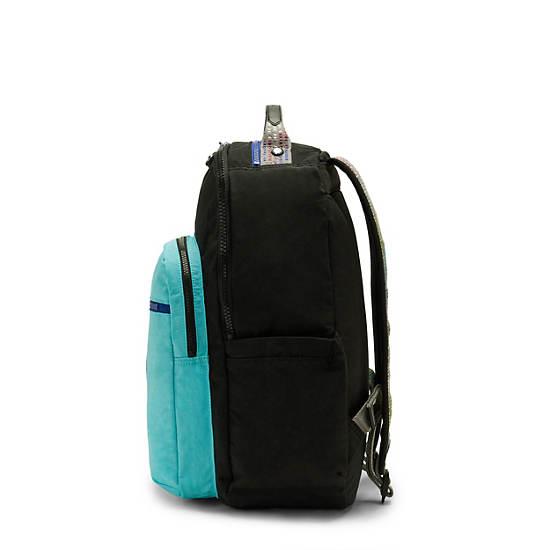 """Seoul Large 15"""" Laptop Backpack, Poseidon Black, large"""