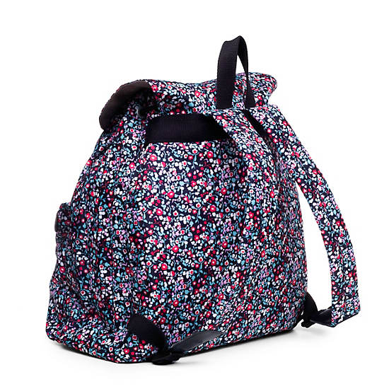 Keeper Printed Backpack,Glistening Poppy  Blue,large