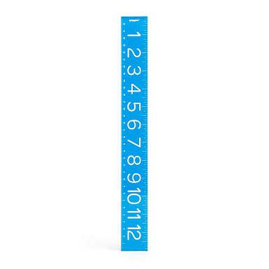 Poppin Ruler - Pool Blue