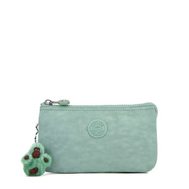 Creativity Large Pouch - Fern Green Tonal Zipper