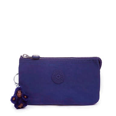 Creativity Large Pouch - Cobalt Dream Tonal Zipper