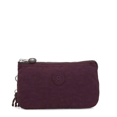 Creativity Large Pouch - Dark Plum