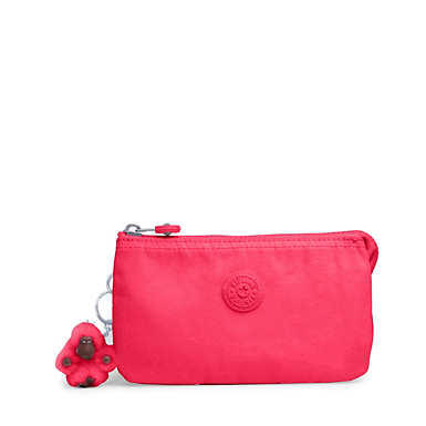 Creativity Large Pouch - Grapefruit Tonal Zipper