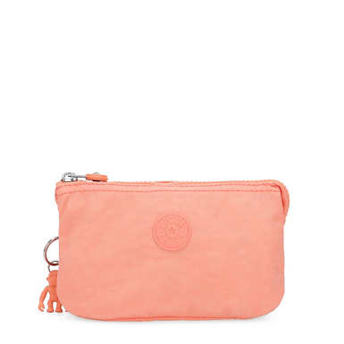 Creativity Large Pouch - Peachy Coral