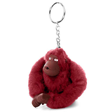 Sven Monkey Keychain - Brick Red
