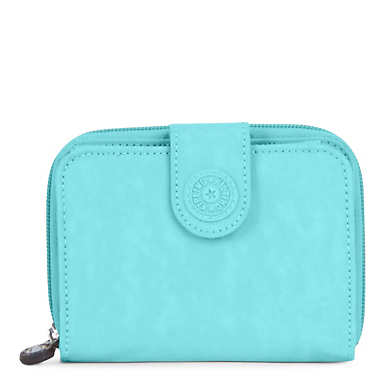 New Money Deluxe Wallet - Blue Splash