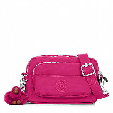 Merryl 2-in-1 Convertible Crossbody Bag - Very Berry