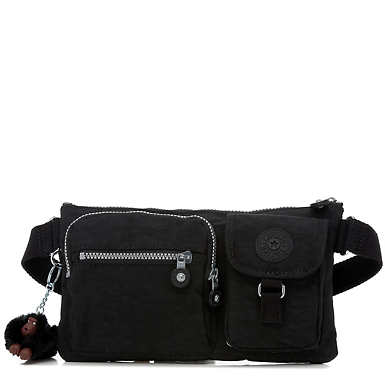 Presto Convertible Belt Bag - Black