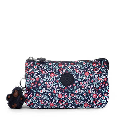 Creativity Large Pouch - Glistening Poppy  Blue