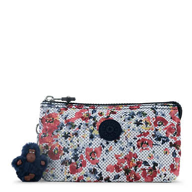 Creativity Large Pouch - Busy Blossoms