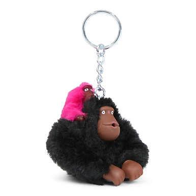 Baby Monkey Keychain - Black Combo