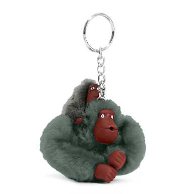 Baby Monkey Keychain - Bliss Green